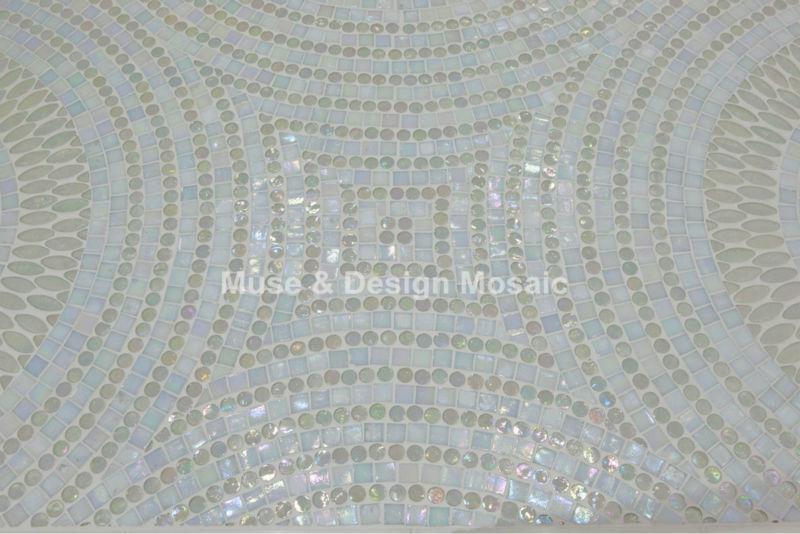 tile floor tile White flower kitchen backsplash Waterproof Wallpaper 800x534