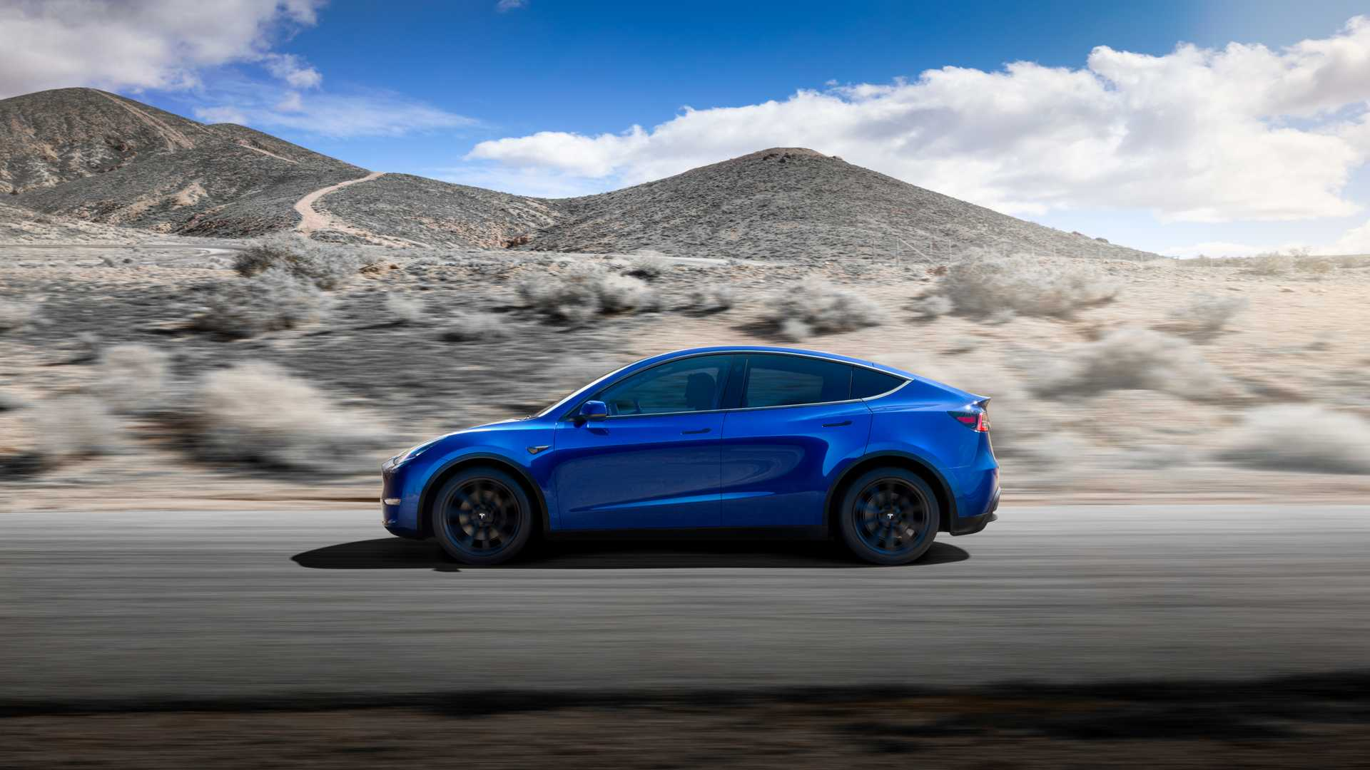 2021 Tesla Model Y Side Wallpapers 3   NewCarCars 1920x1080