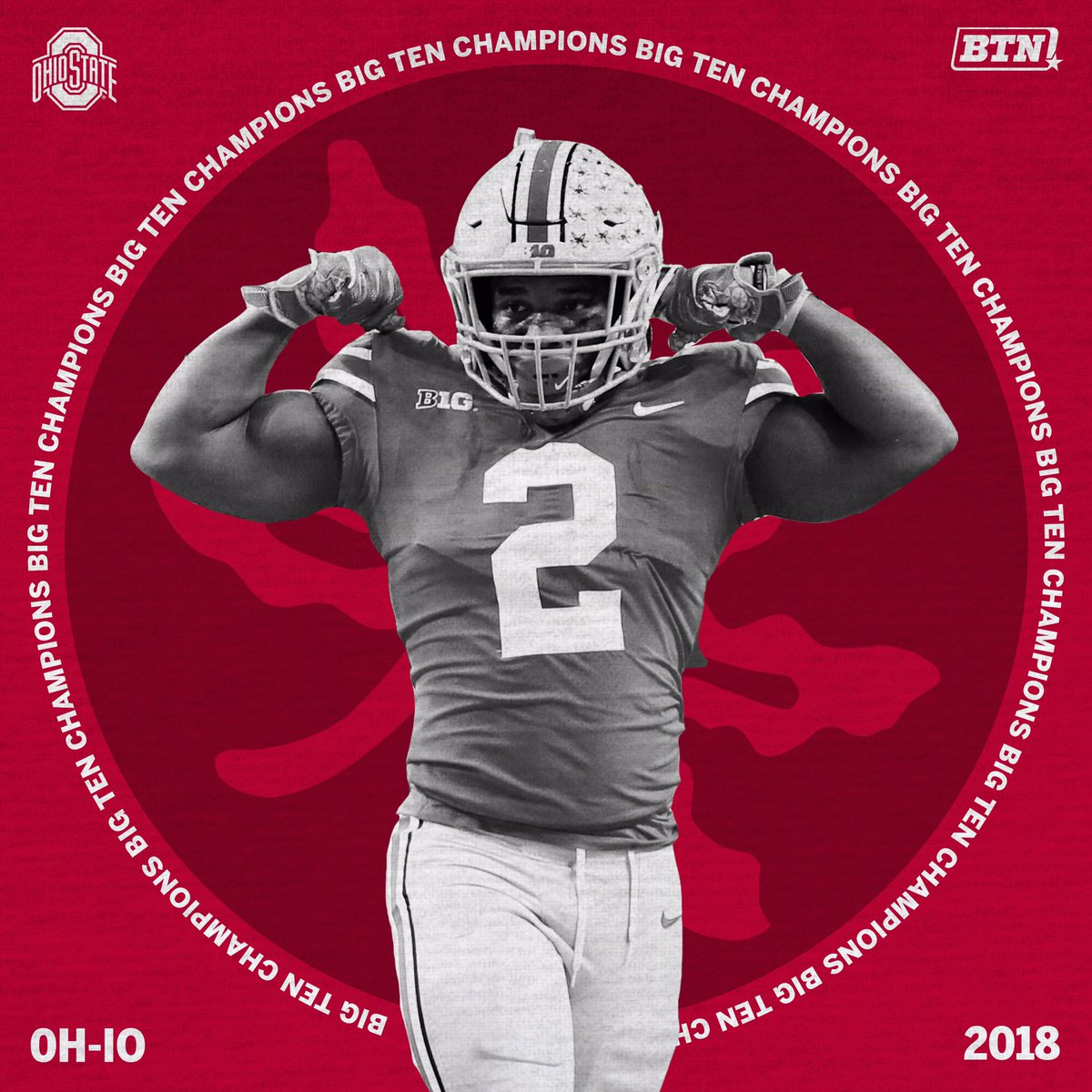 Ohio State on BTN on Twitter You get to flex when youre a B1G 1200x1200