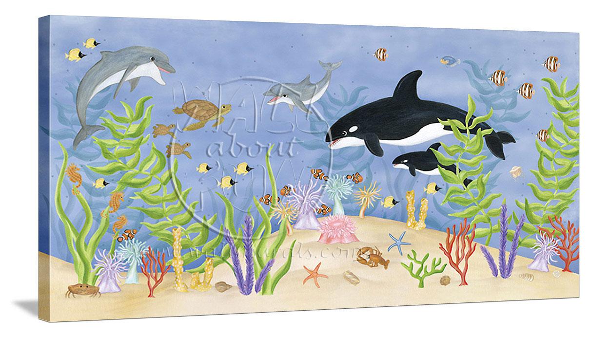 Ocean Themed Wallpaper Borders 1208x692