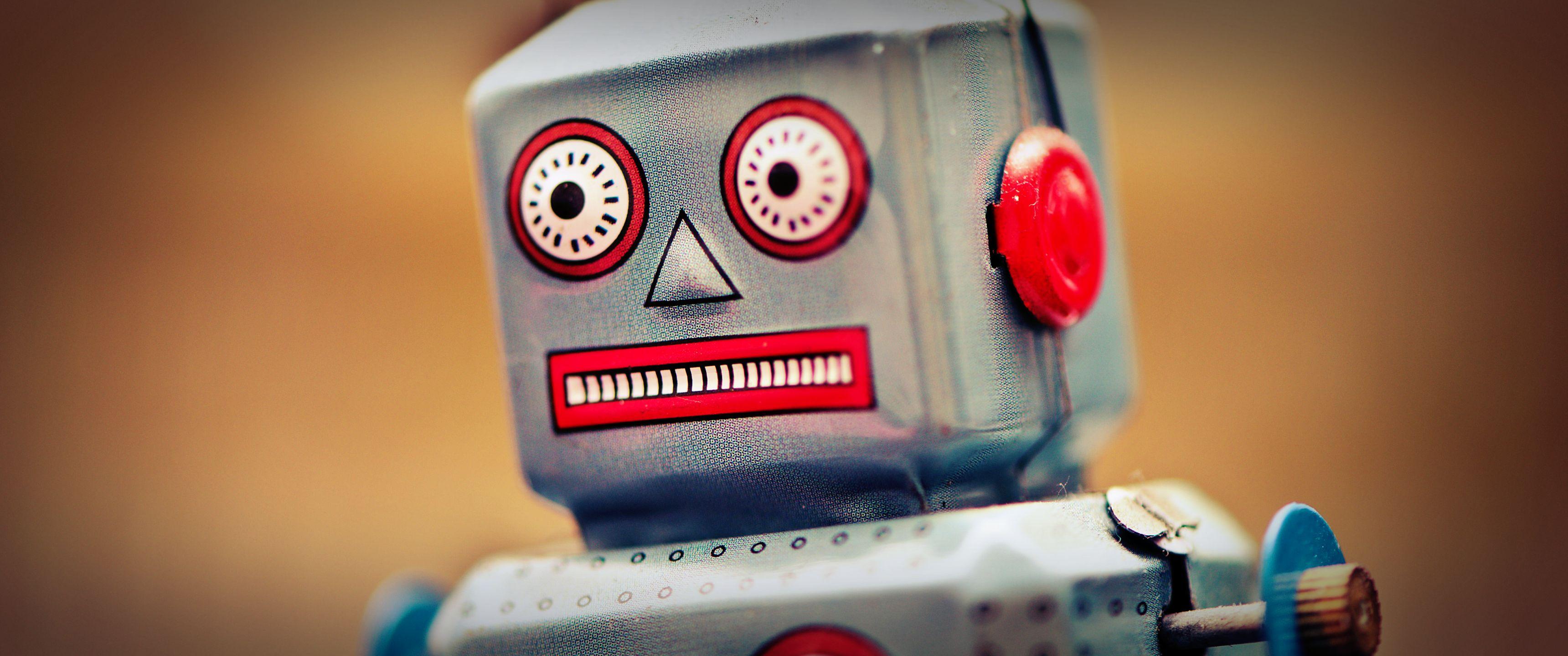 Robot wallpaper [3440x1440] WidescreenWallpaper 3440x1440