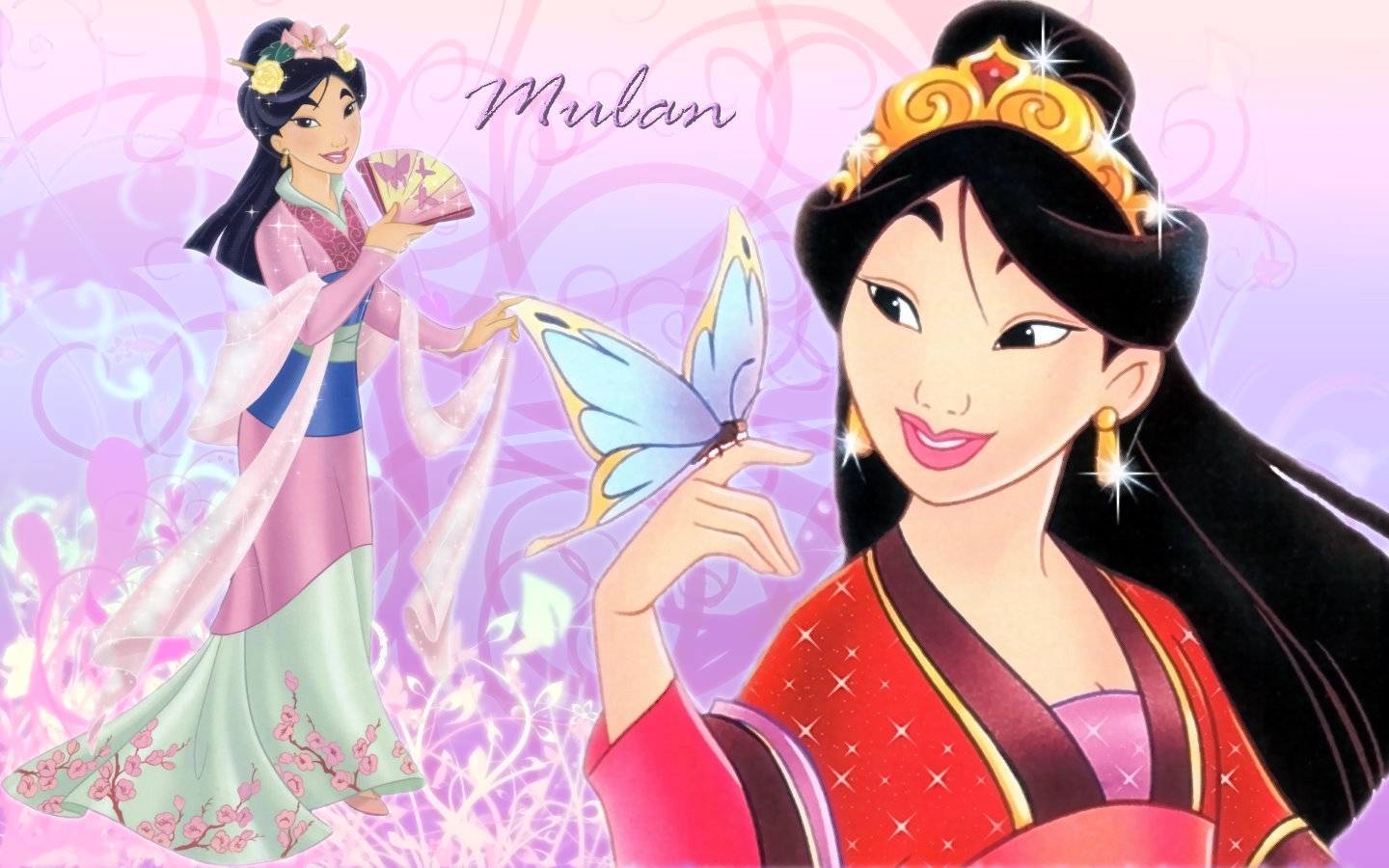 Mulan Dress HD Wallpaper Background Images 1440x900