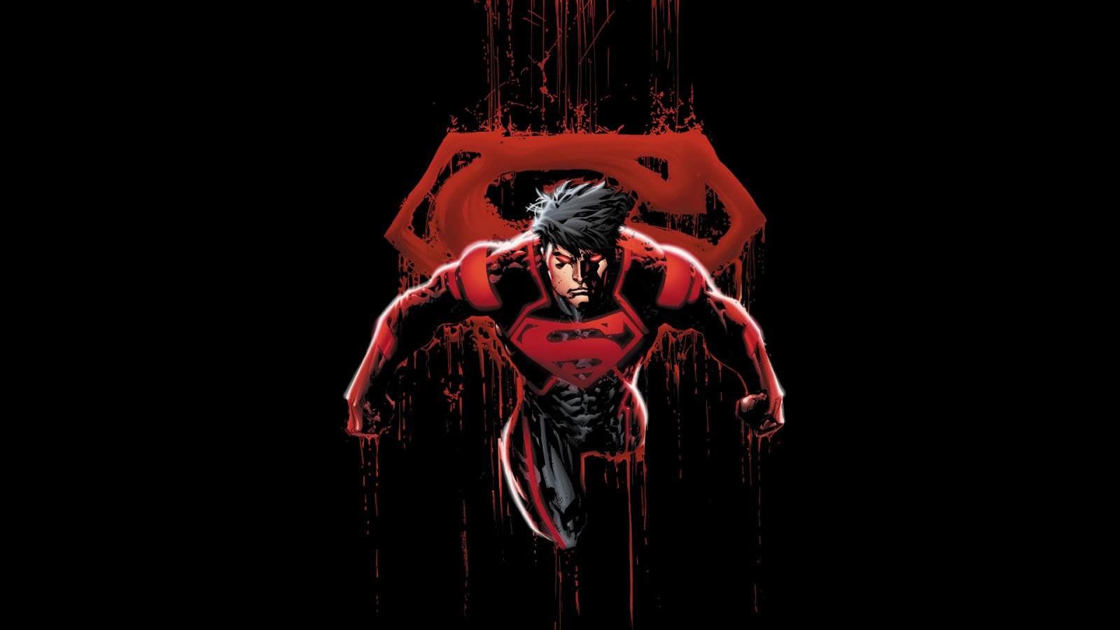 Batman New 52 Wallpaper Hd First is a new 52 superboy 1600x900