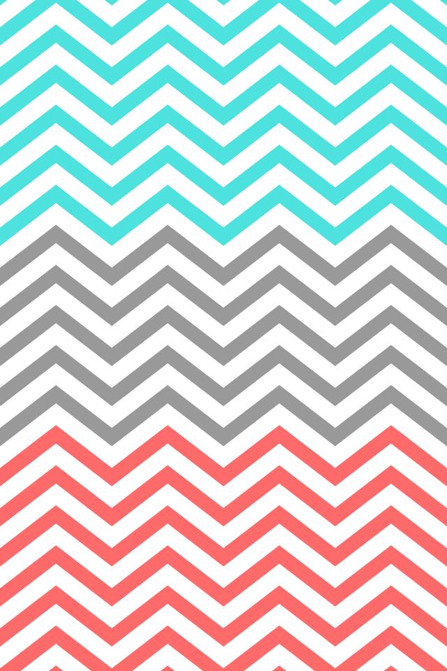 Go Back Pix For Coral Chevron Desktop Background 640x960