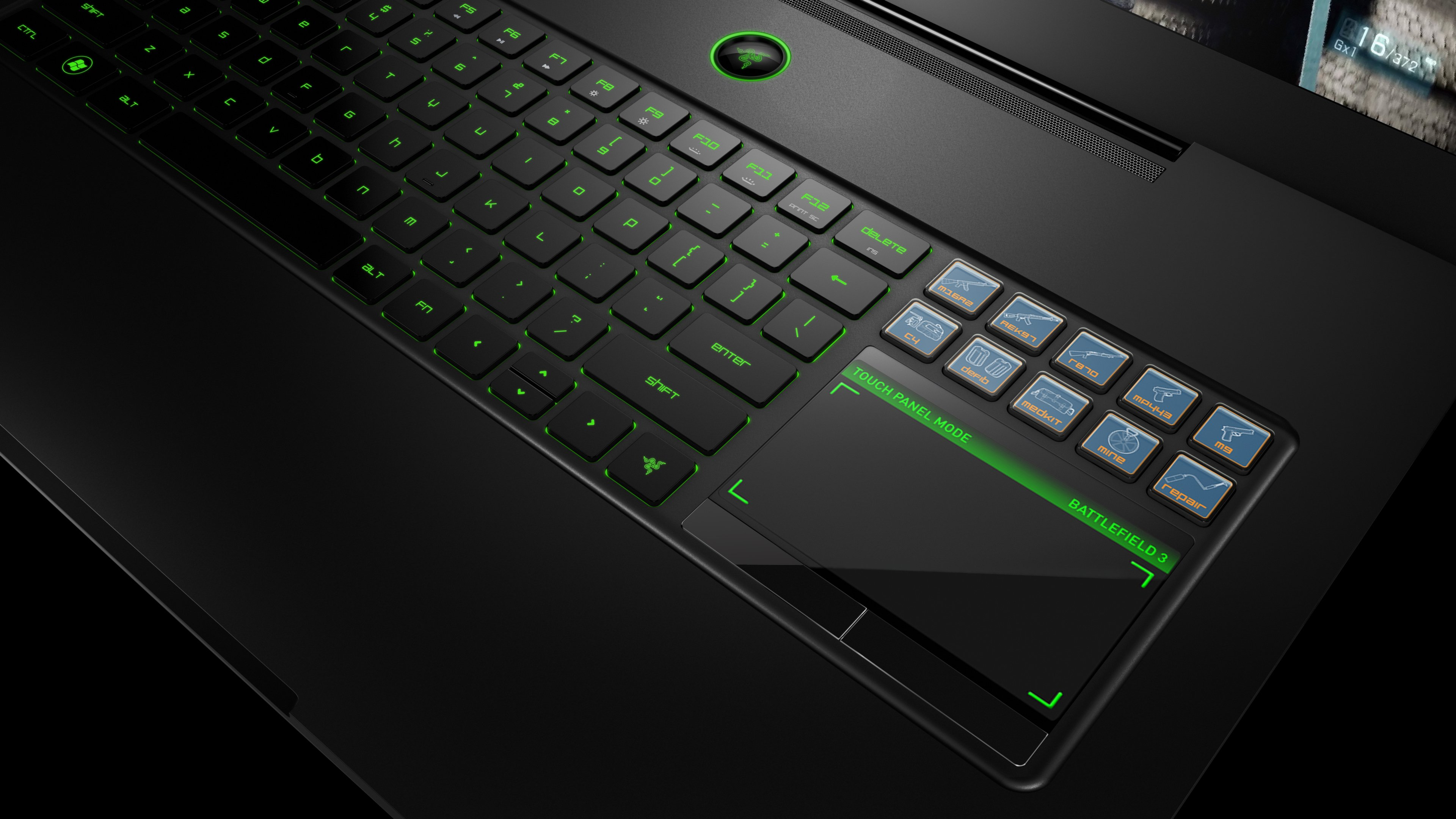 4K wallpaper   Hi tech   games laptop Razer blade   3840x2160 3840x2160