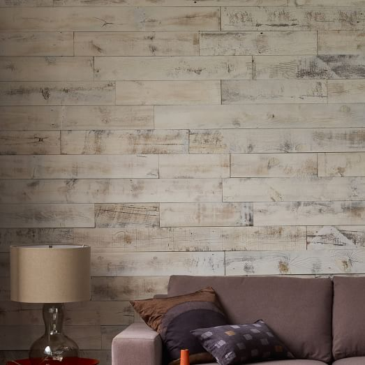 Stikwood Adhesive Wood Paneling 20sq Set west elm 523x523