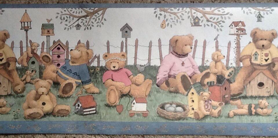 Teddy Bear Wallpaper Border   Borders 960x478