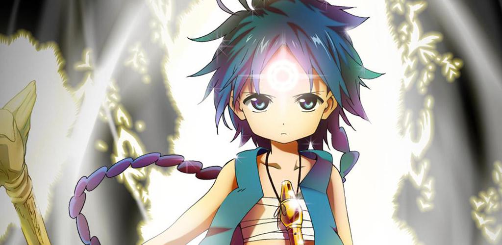 Wallpaper Magi Aladdin FREE Anime Live Wallpaper Android 1024x500