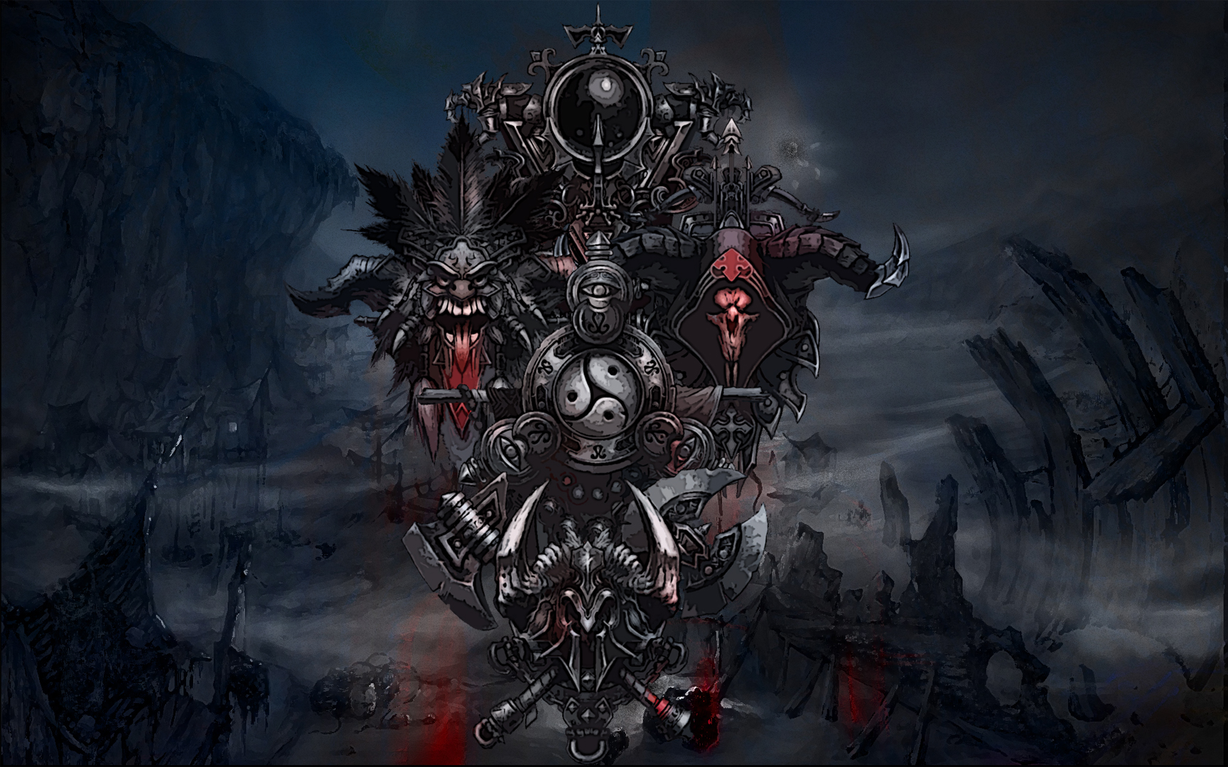 Fantasy Art Necromancers Wallpapers Hd Desktop And: Diablo 3 Wizard Wallpaper