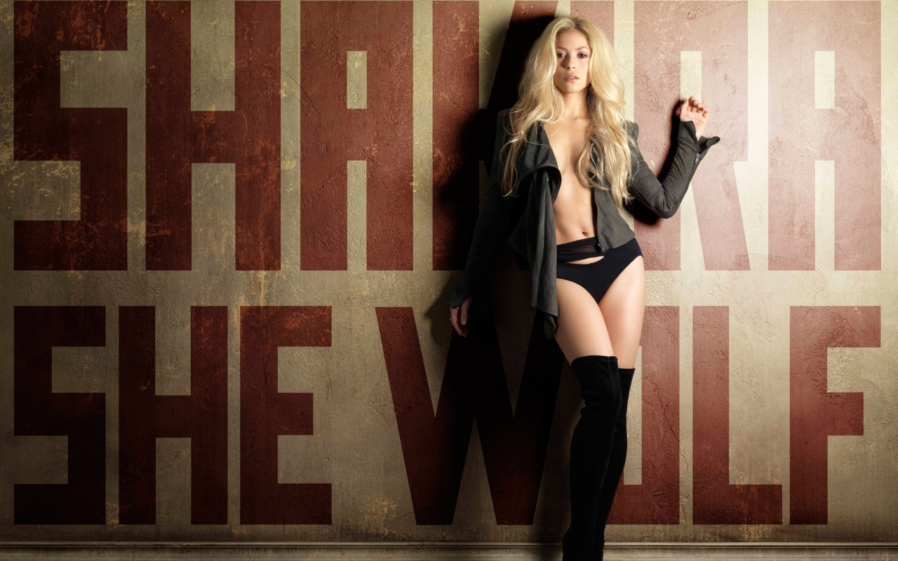 Shakira She Wolf HD wallpaper HD Wallpapers 1280x800