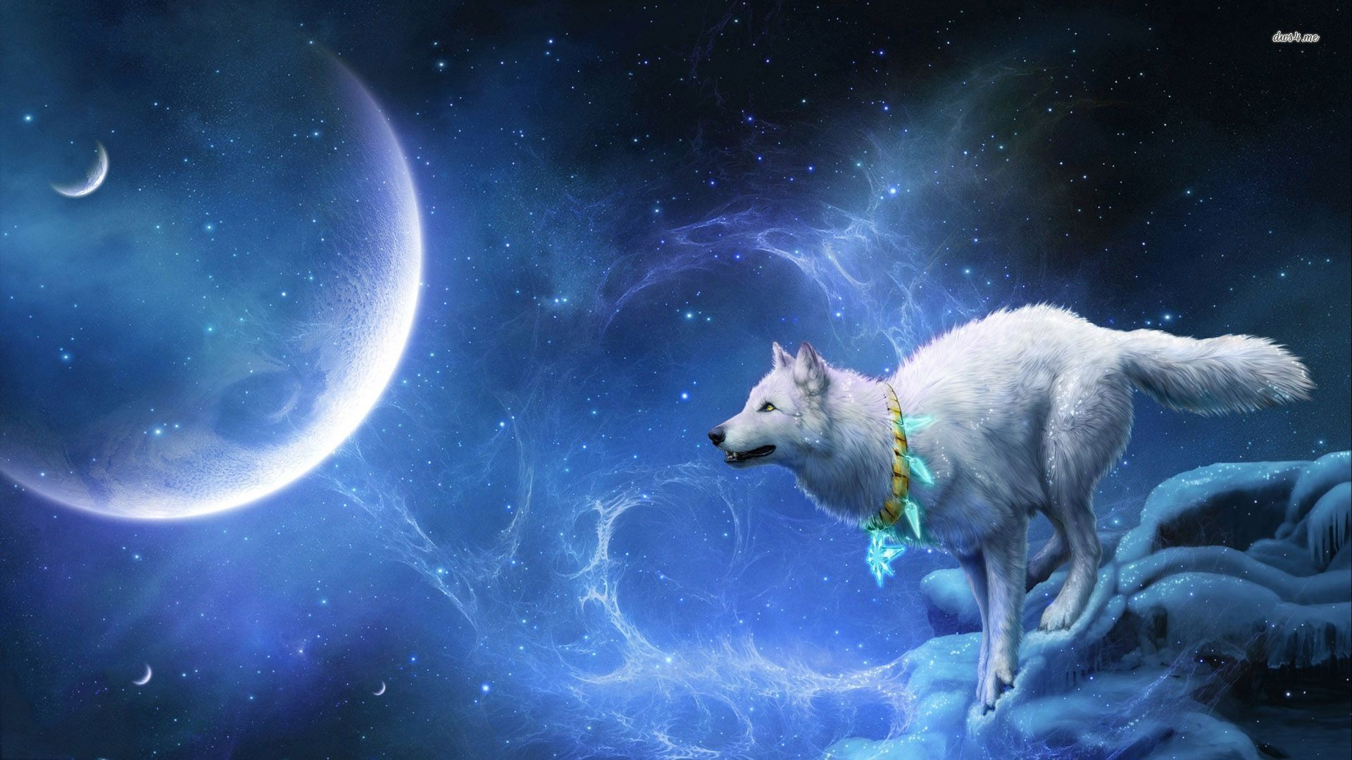 Free Download Download Galaxy Wolf Wallpaper 34 Wallpaper For Your Screen 1920x1080 For Your Desktop Mobile Tablet Explore 29 Black Wolf Galaxy Wallpapers Black Wolf Galaxy Wallpapers Galaxy Wolf