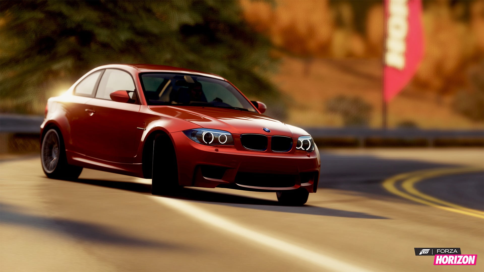 Free Download Blue Bmw 1m Coupe Forza Horizon Digital