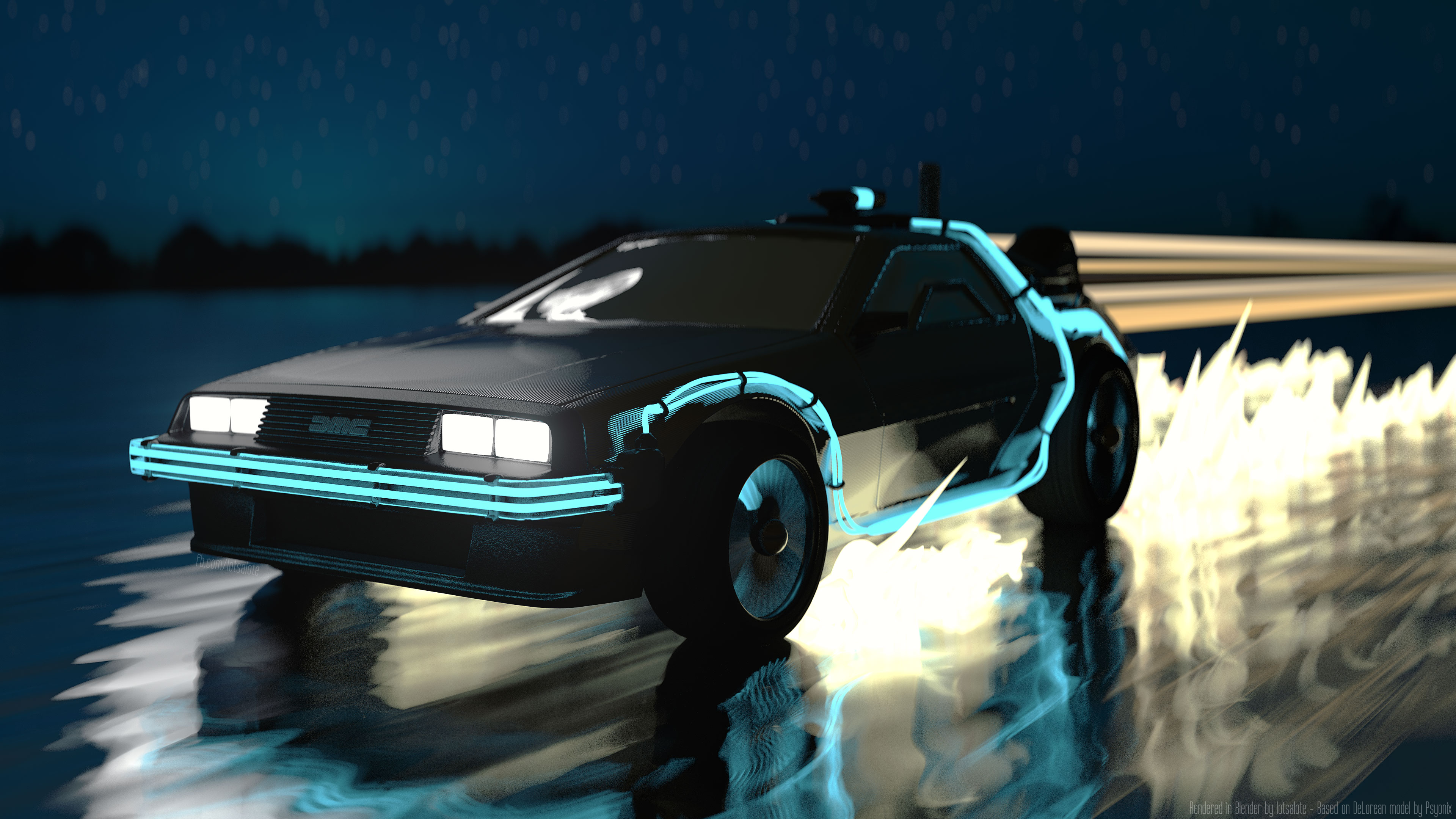 Delorean Wallpapers and Background Images   stmednet 3840x2160
