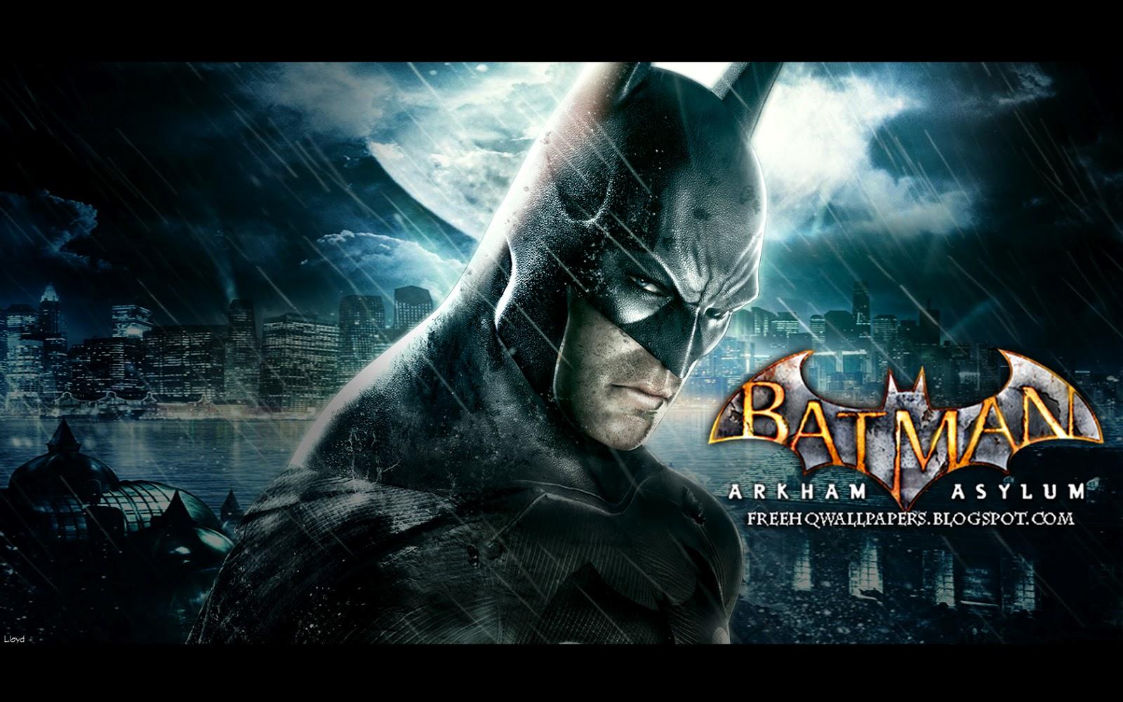 Batman Arkham Asylum Wallpaper 1600x1000