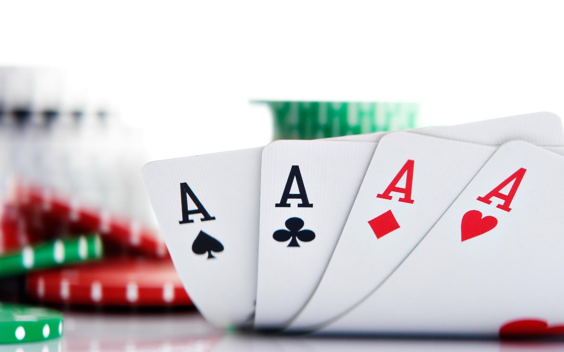 Aces card poker chips wallpaper 1920x1200 35758 WallpaperUP 1920x1200