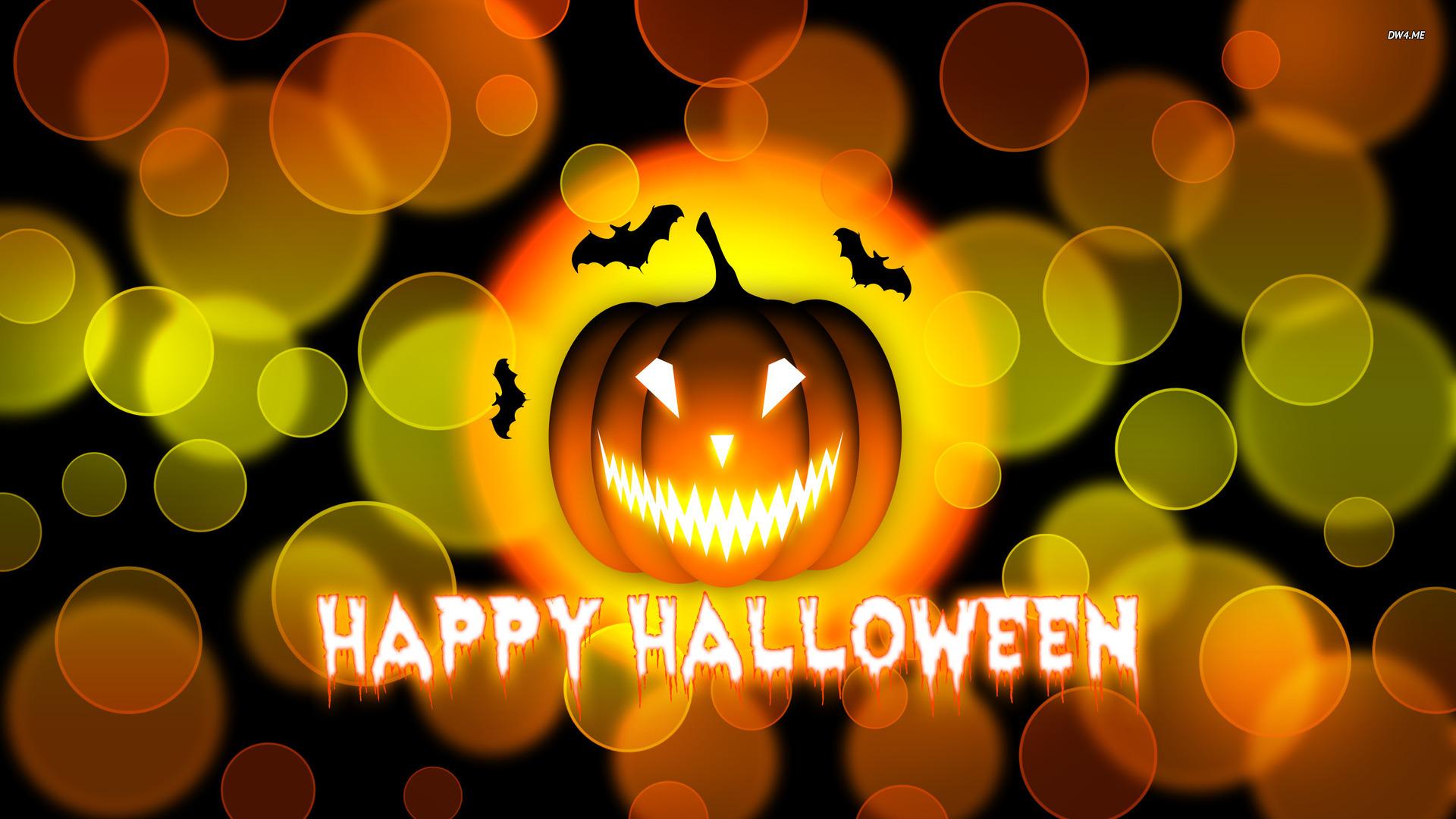 Download Cute Halloween Background Hd Wallpaper For Desktop 1920x1080