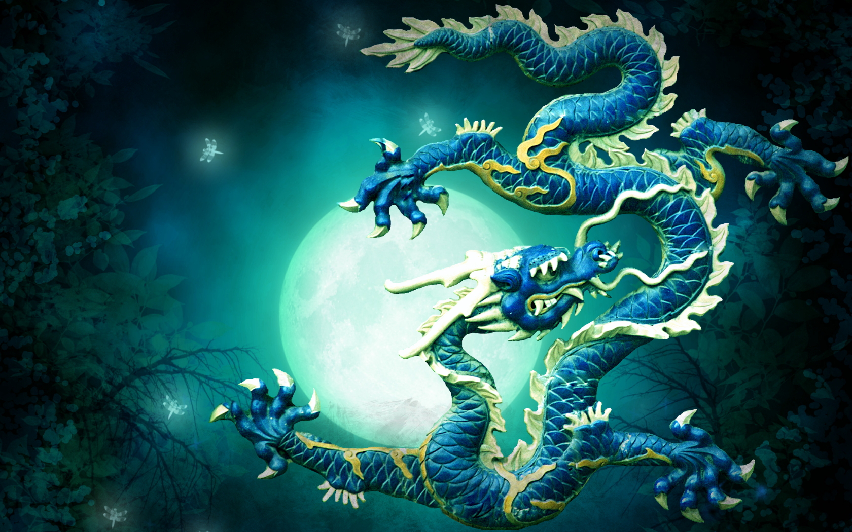 Chinese Dragon HD Wallpapers Backgrounds 1680x1050