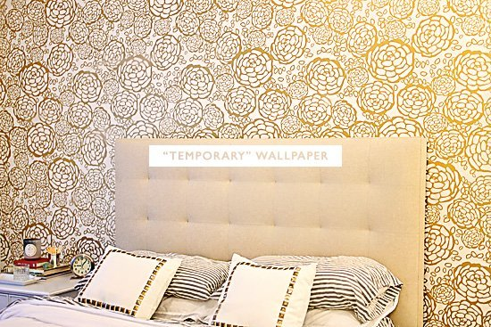 temporary wallpaper clinic accenting walls with temporary wallpaper 550x367
