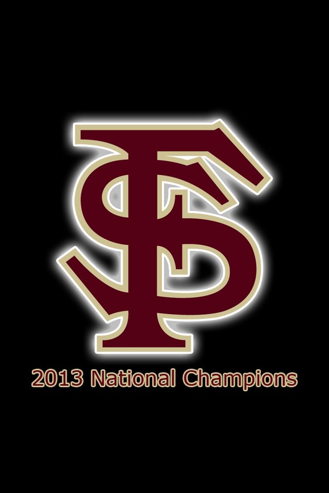 2013 National Champions   Florida State iPhone iPod Touch Wallpapers 640x960