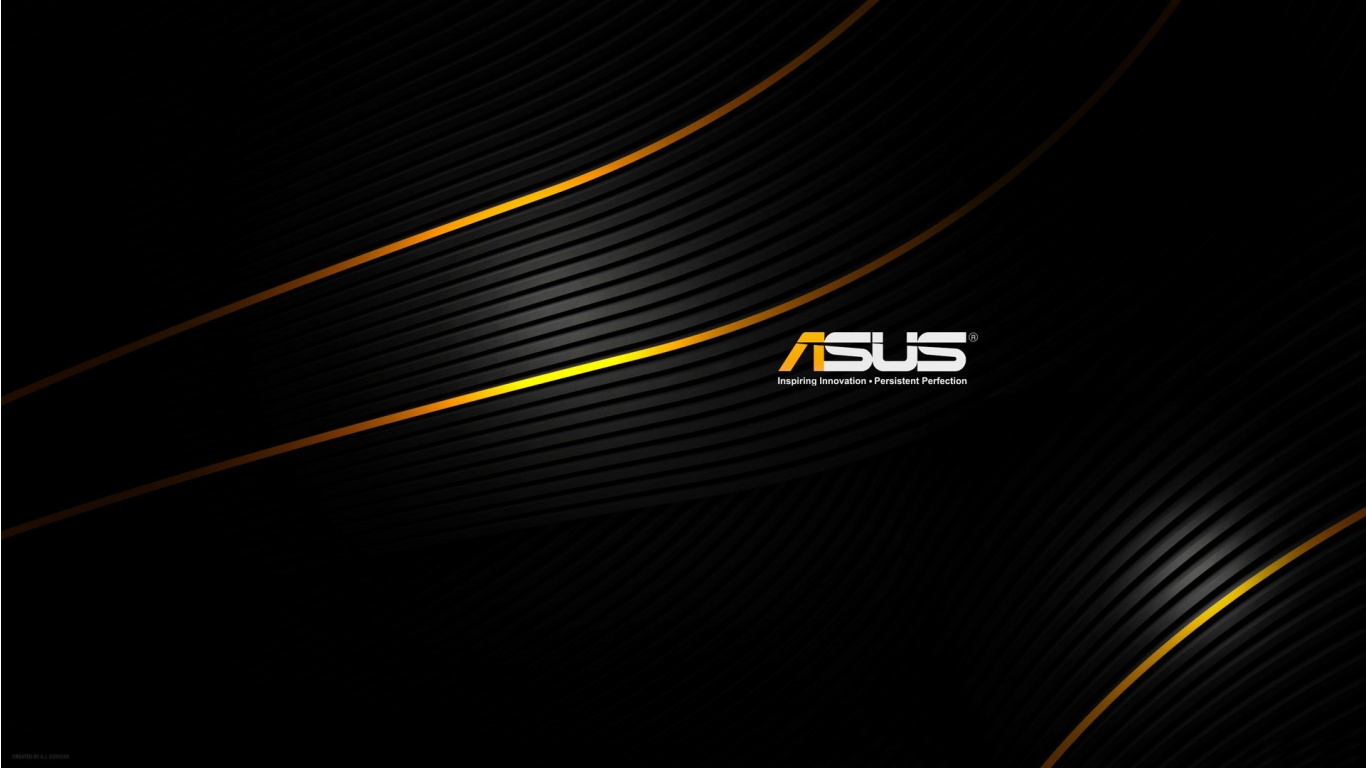 Asus Black Background Wallpapers   1366x768   150823 1366x768