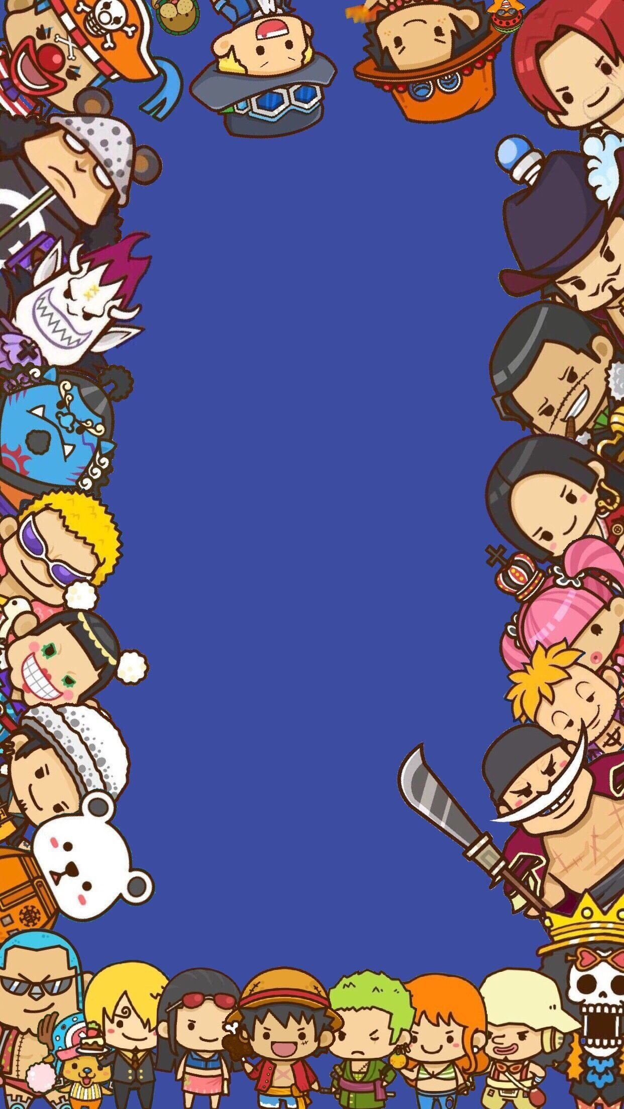 80 One Piece Wallpapers on WallpaperPlay 1242x2208