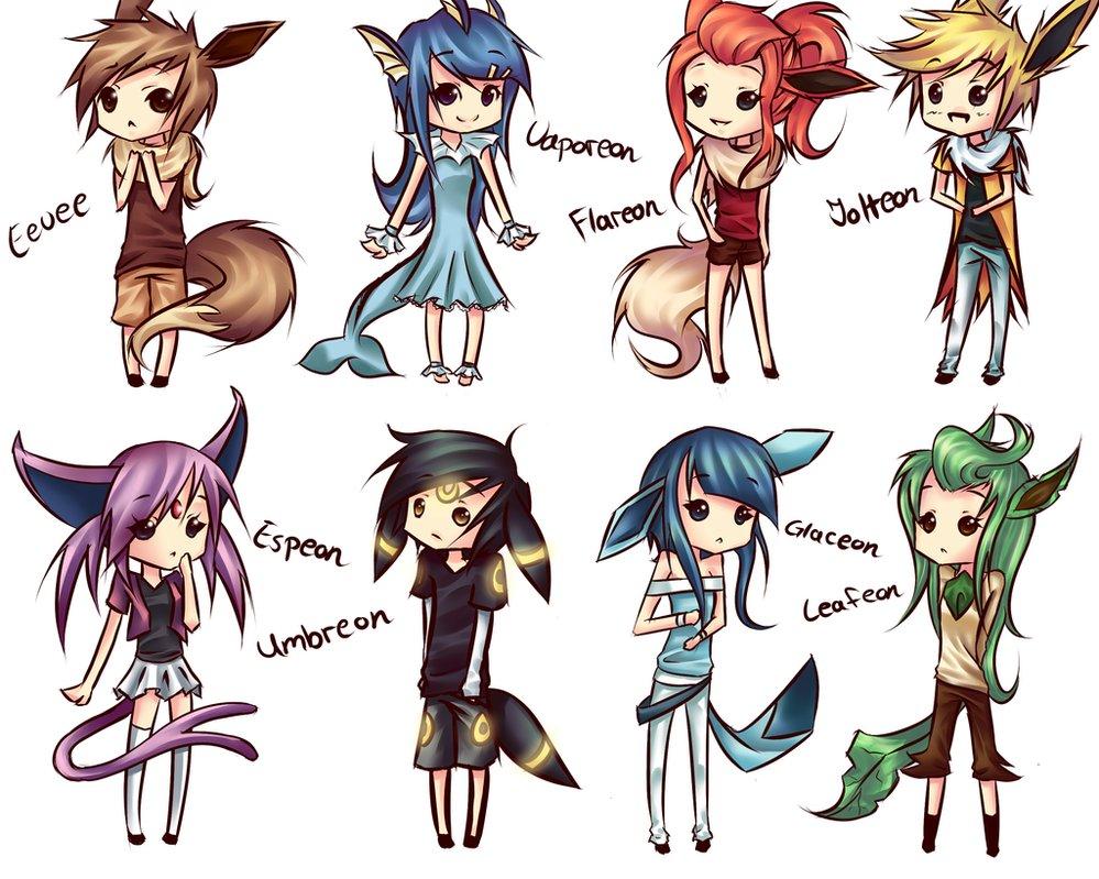 You can download Cute Pokemon Wallpaper Eevee Eevee Evolution By Miku 999x799