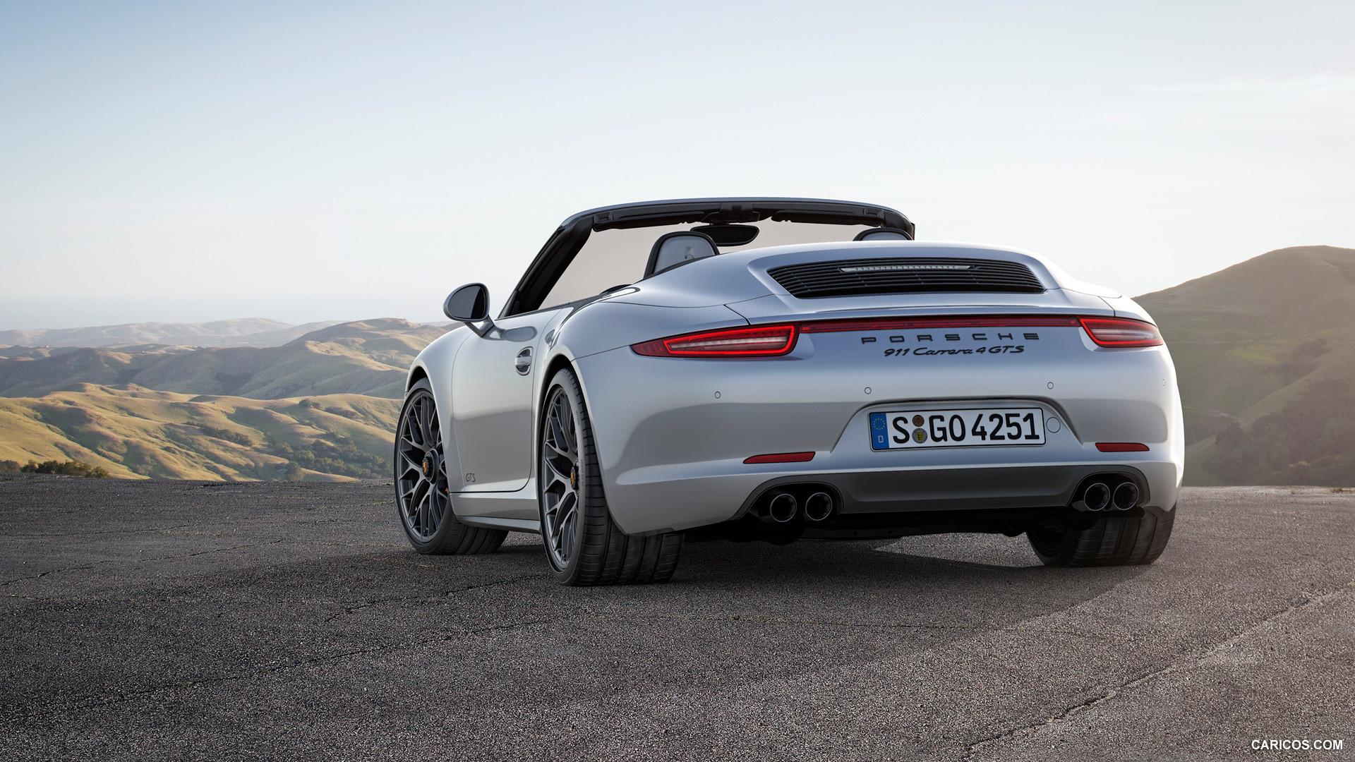2015 Porsche 911 Carrera 4 GTS Cabriolet   Rear HD Wallpaper 3 1920x1080