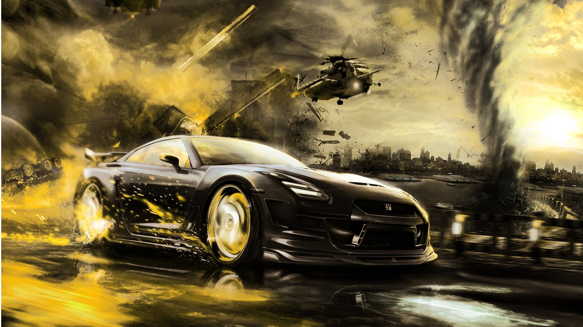 Awesome Halicopter Car HD Wallpapers 1080p   WallpaperAsk 1920x1080