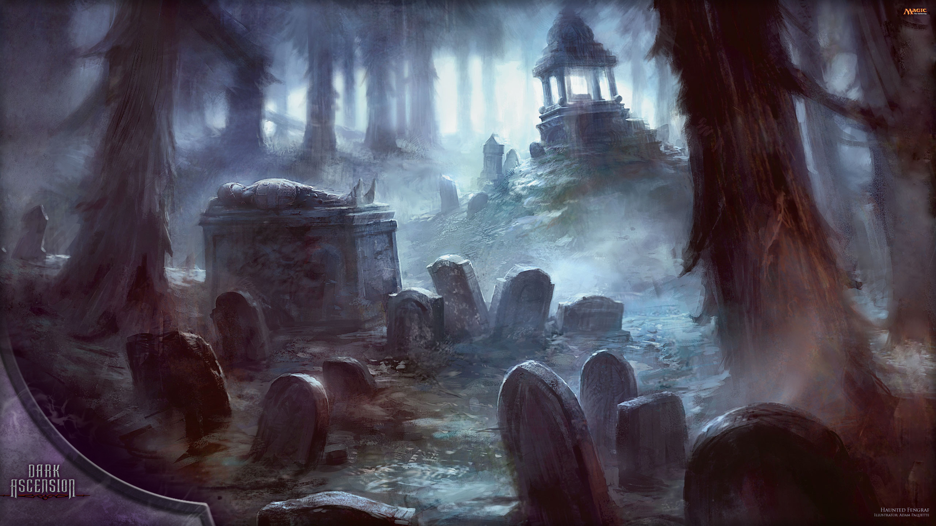 Magic the gathering wallpapers impremedia wallpaper of the week haunted fengraf daily mtg magic the voltagebd Images