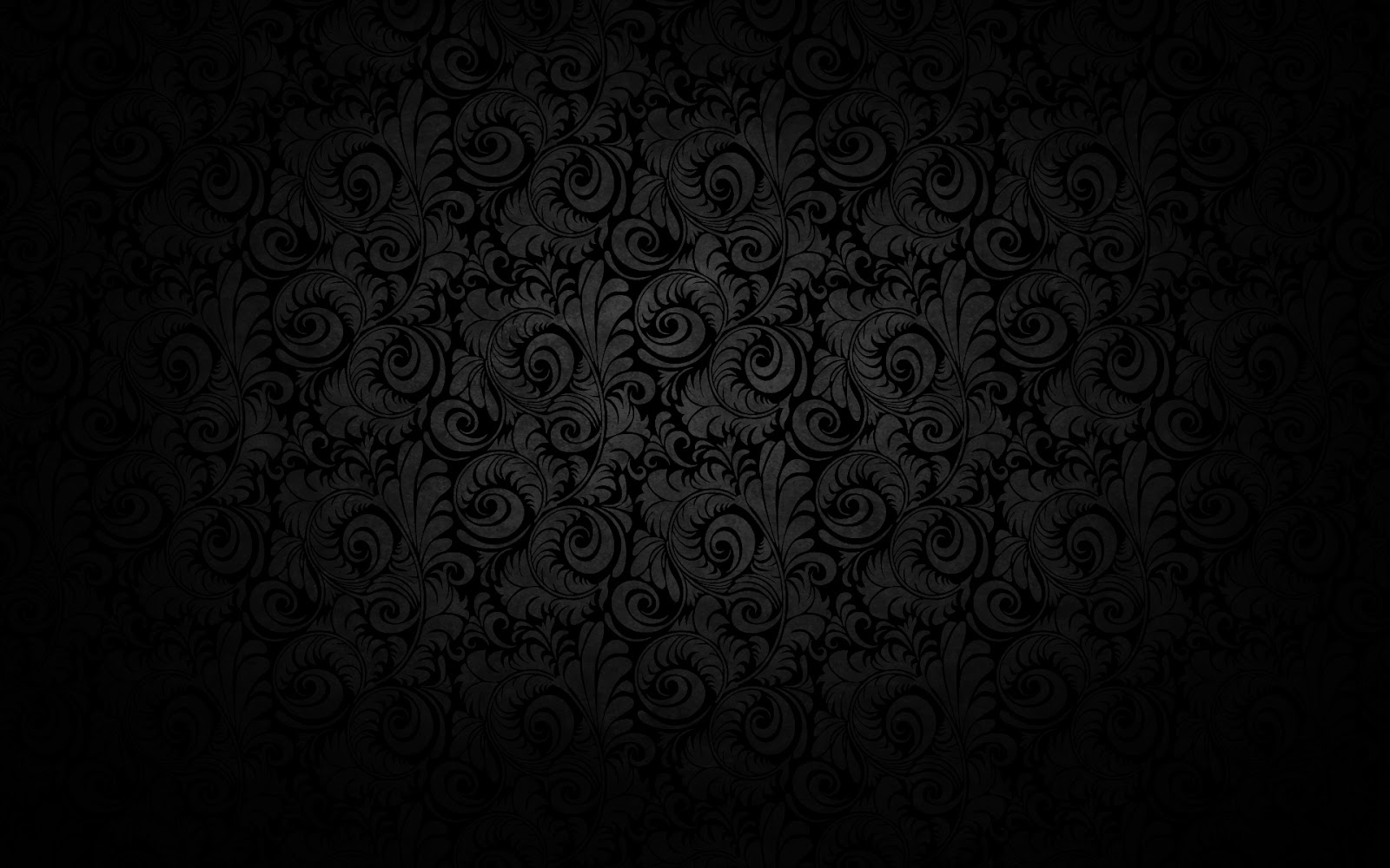 Dark background grey floral pattern HD texture image free downloadjpg 1600x1000