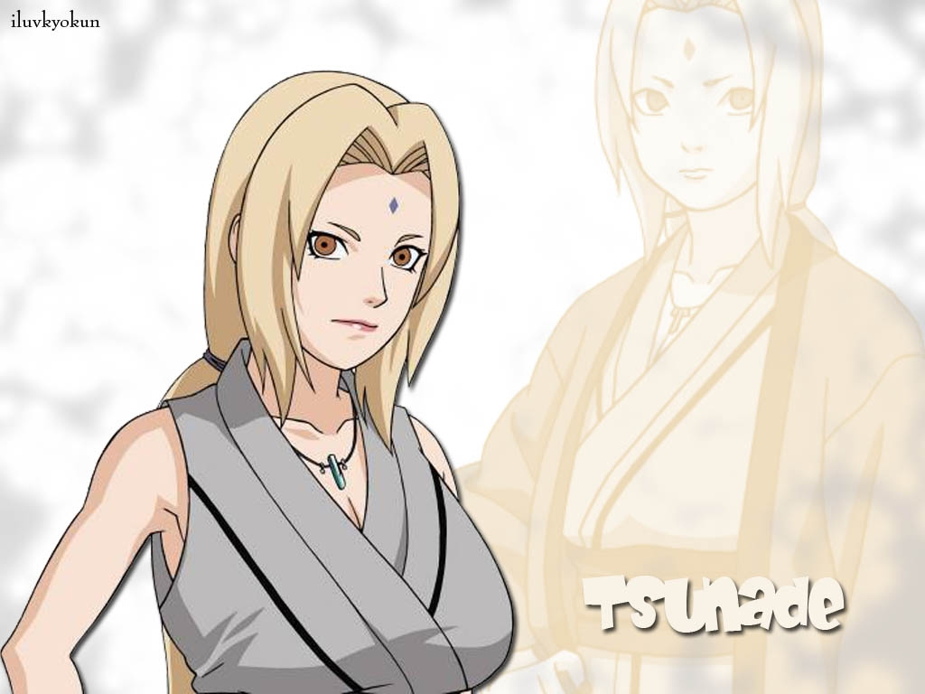 Naruto Wallpapers Tsunade sama The legendary Sannin 1024x768