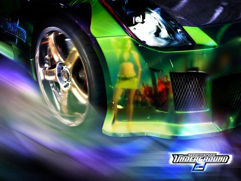 de Need For Speed Underground 2 sur Maxxiweb Fond et Wallpapers 800x600