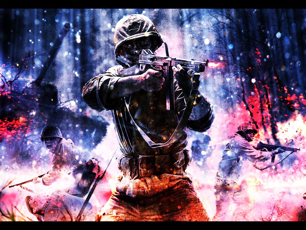 Cod waw wallpaper wallpapersafari - Call of duty world war 2 background ...