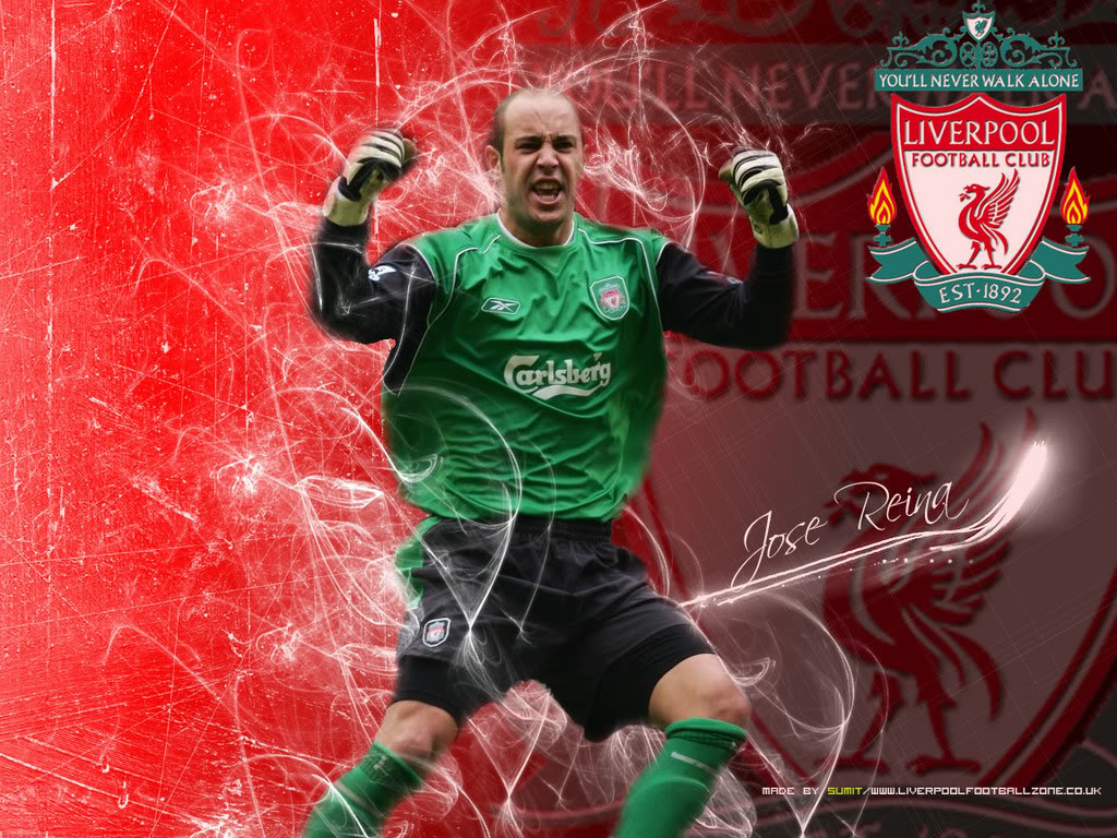 Pepe Reina Celebration Wallpaper   Football HD Wallpapers 1024x768