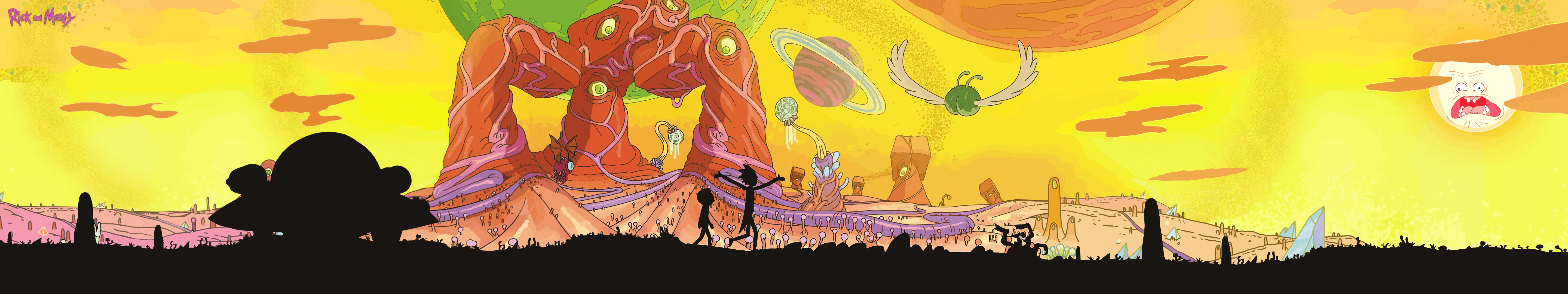 Rick And Morty Wallpapers 5760x1080