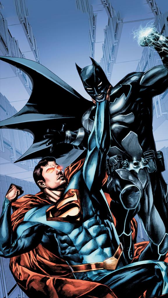 Batman VS Superman iPhone 5 Wallpaper 577x1024 577x1024
