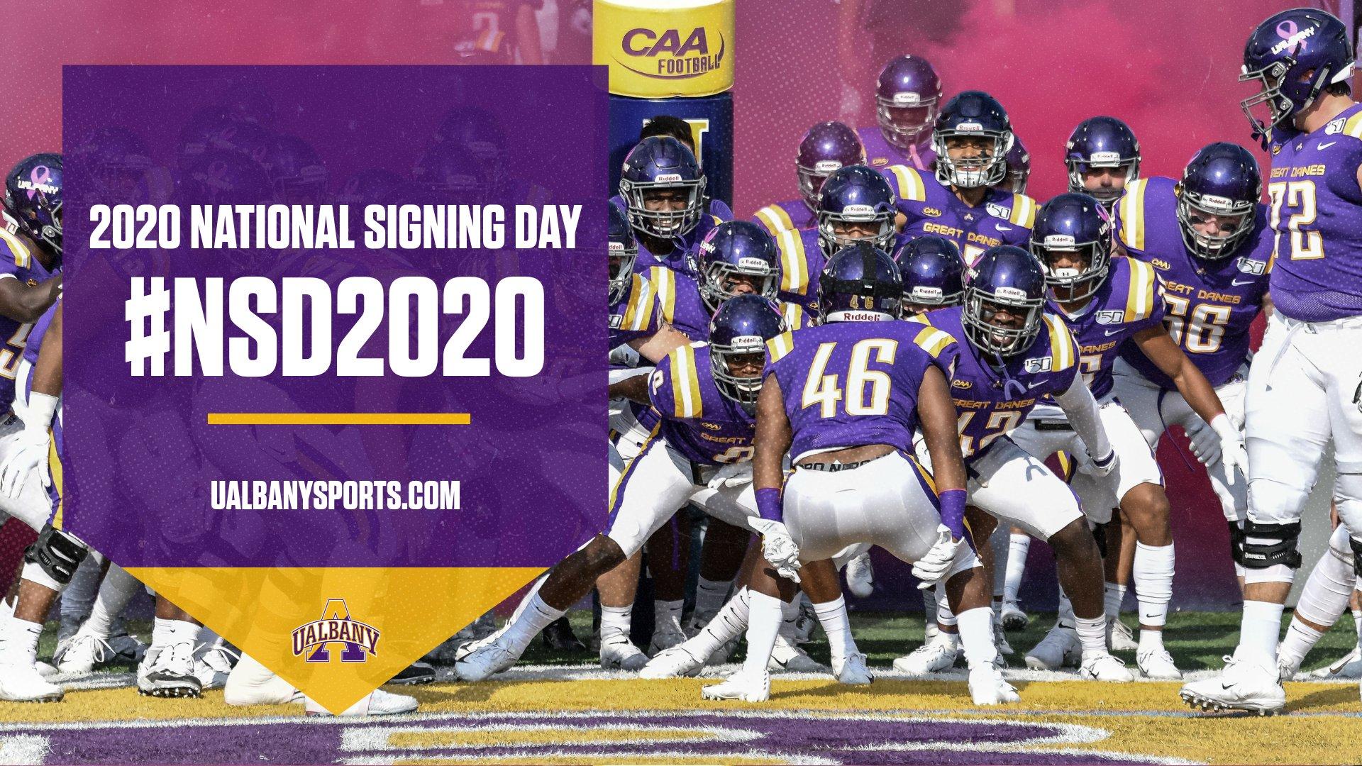 2020 UAlbany Football National Signing Day   University at Albany 1920x1080
