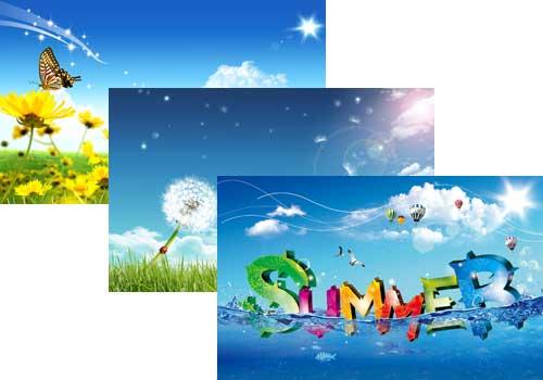 Summer Scene Theme For Windows 500x350