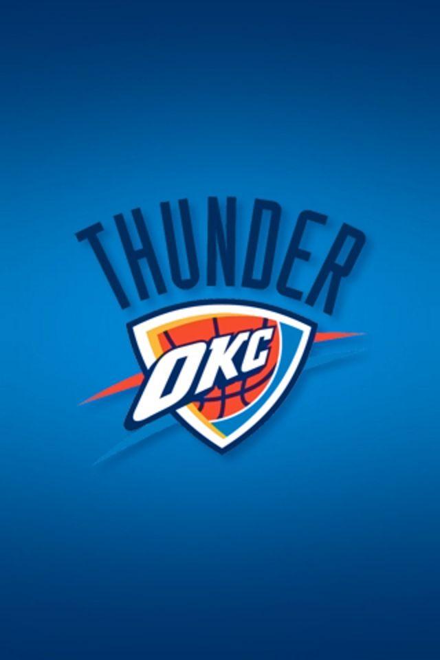 Oklahoma City Thunder iPhone Wallpaper HD 640x960