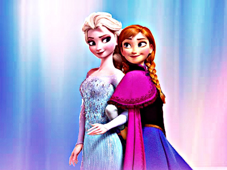 Free download Elsa and Anna wallpaper