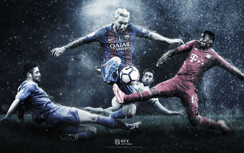 Lionel Messi 2017 Pictures Festival Wallpaper 2917x1838