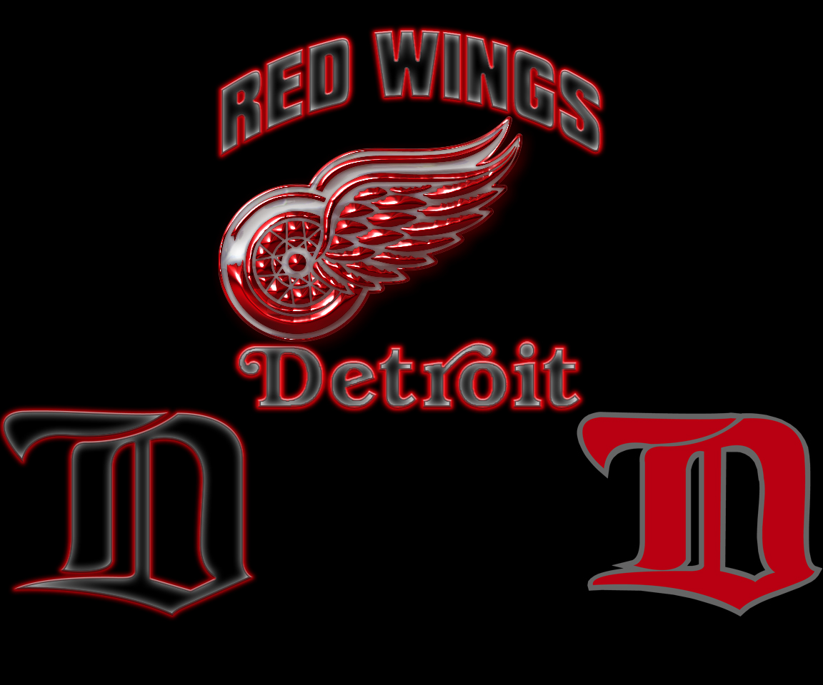 Free Download Detroit Red Wings Logo Wallpaper Detroit Red Wings
