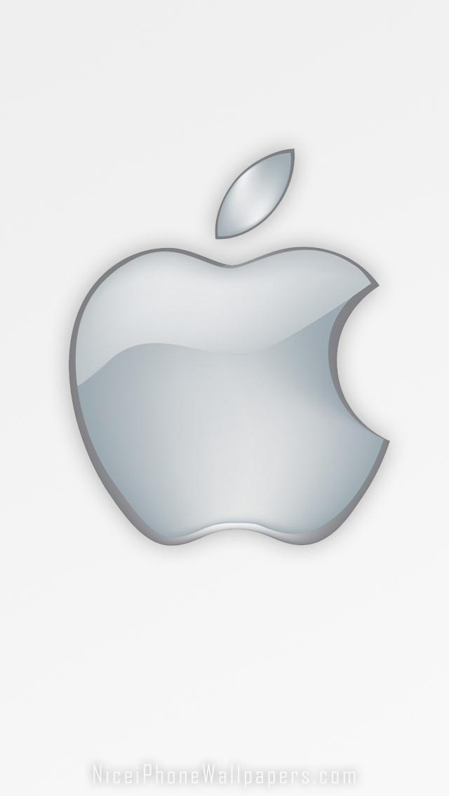Original Apple logo iPhone 5 6 wallpaper iPod wallpaper 640x1136