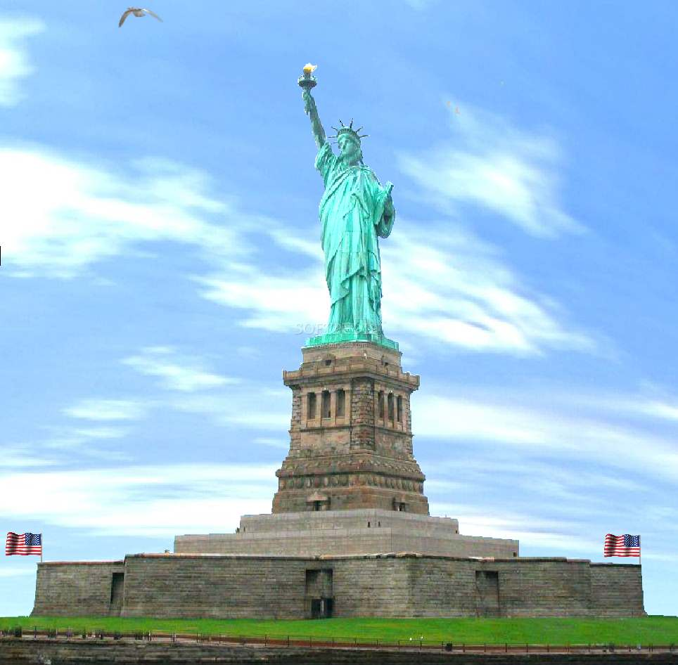 Statue of Liberty Animated Wallpaper   Statue of Liberty Animted 964x946