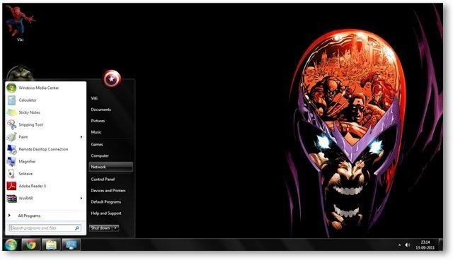 Windows 7 Themes Marvel Comics Theme for Windows [Comics Themes] 640x368