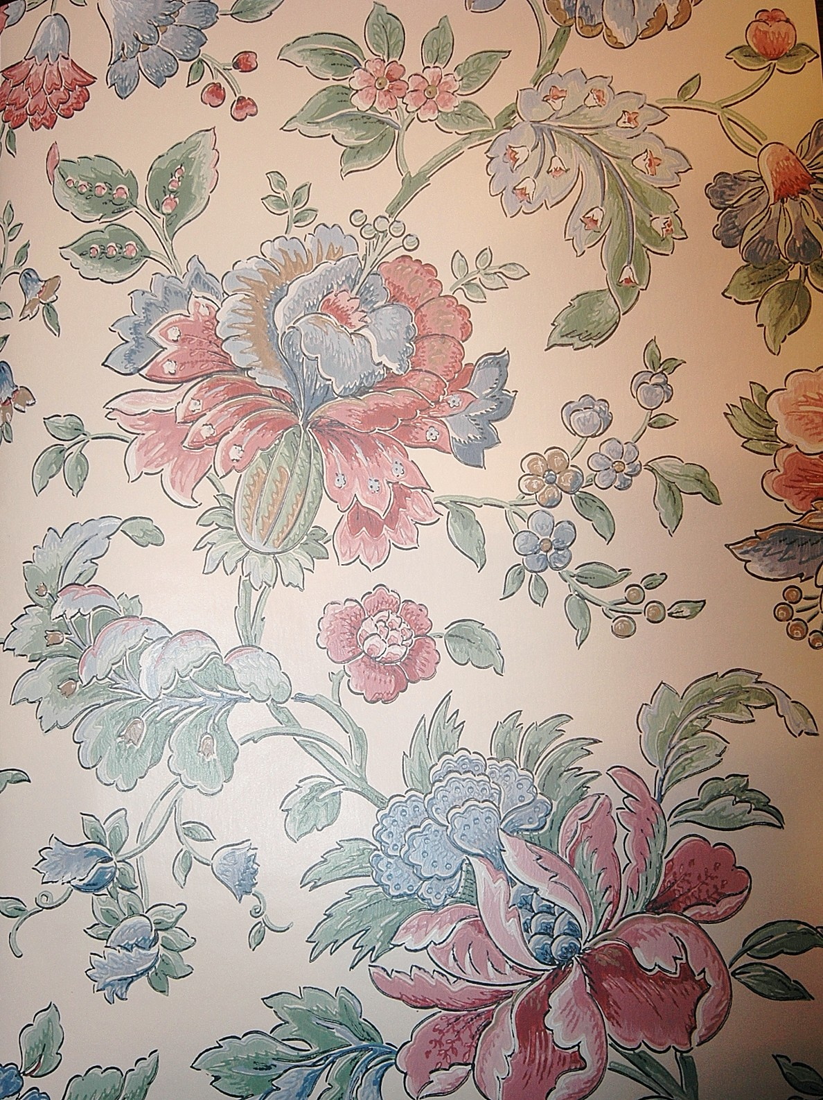 Free Download Victorian Floral Wallpaper Wallpaper For Sale