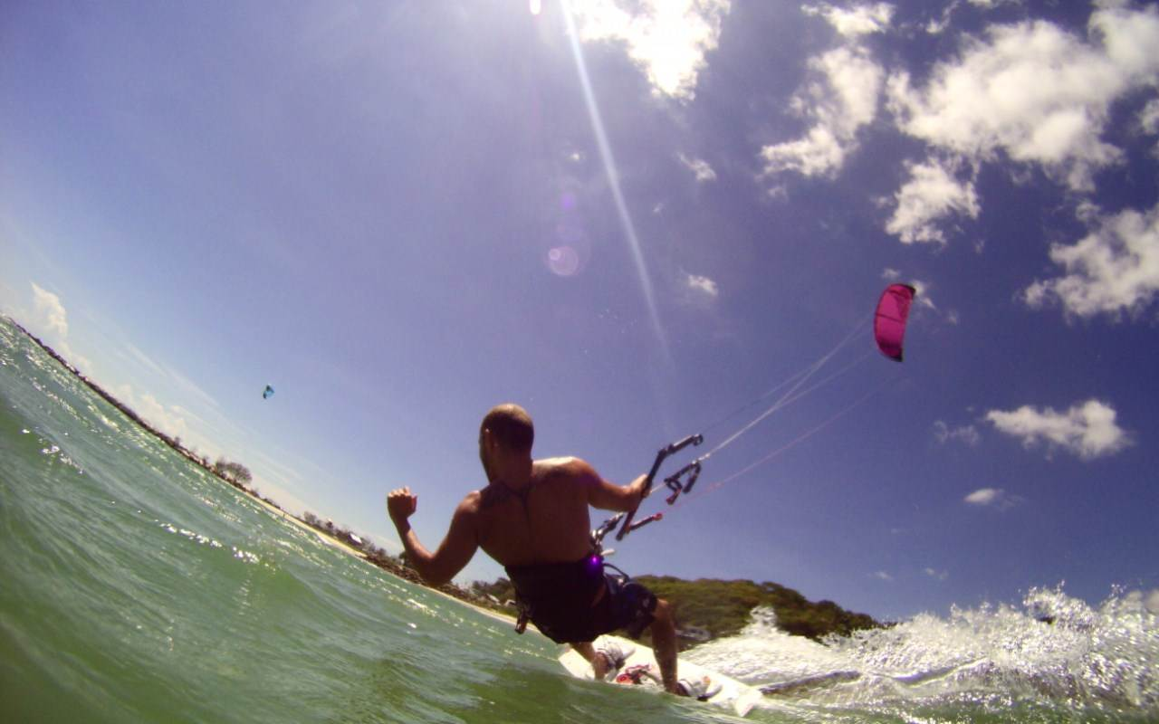 Kitesurfing Windows Photo Gallery Wallpaper