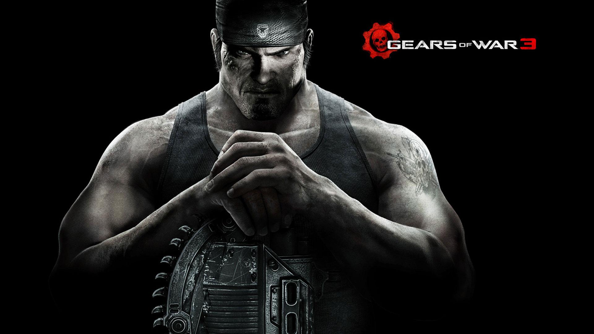Gears of War 3 1080p Wallpaper Gears of War 3 720p Wallpaper 1920x1080