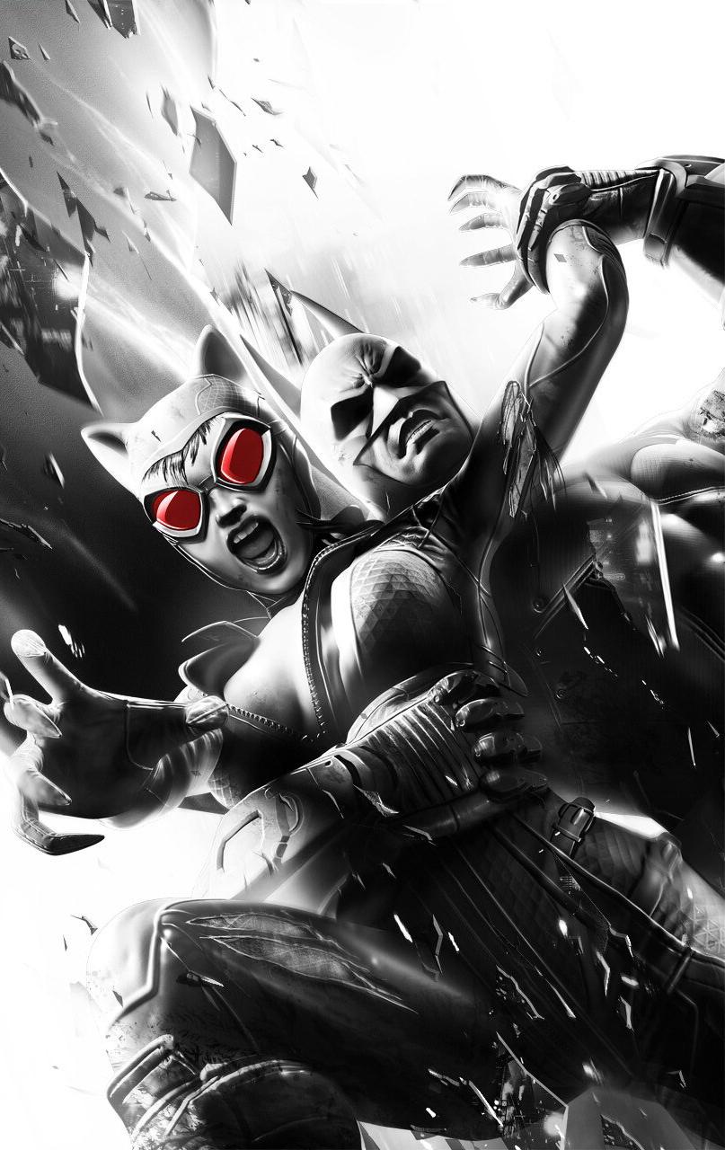 batman arkham city catwoman wallpaper - wallpapersafari