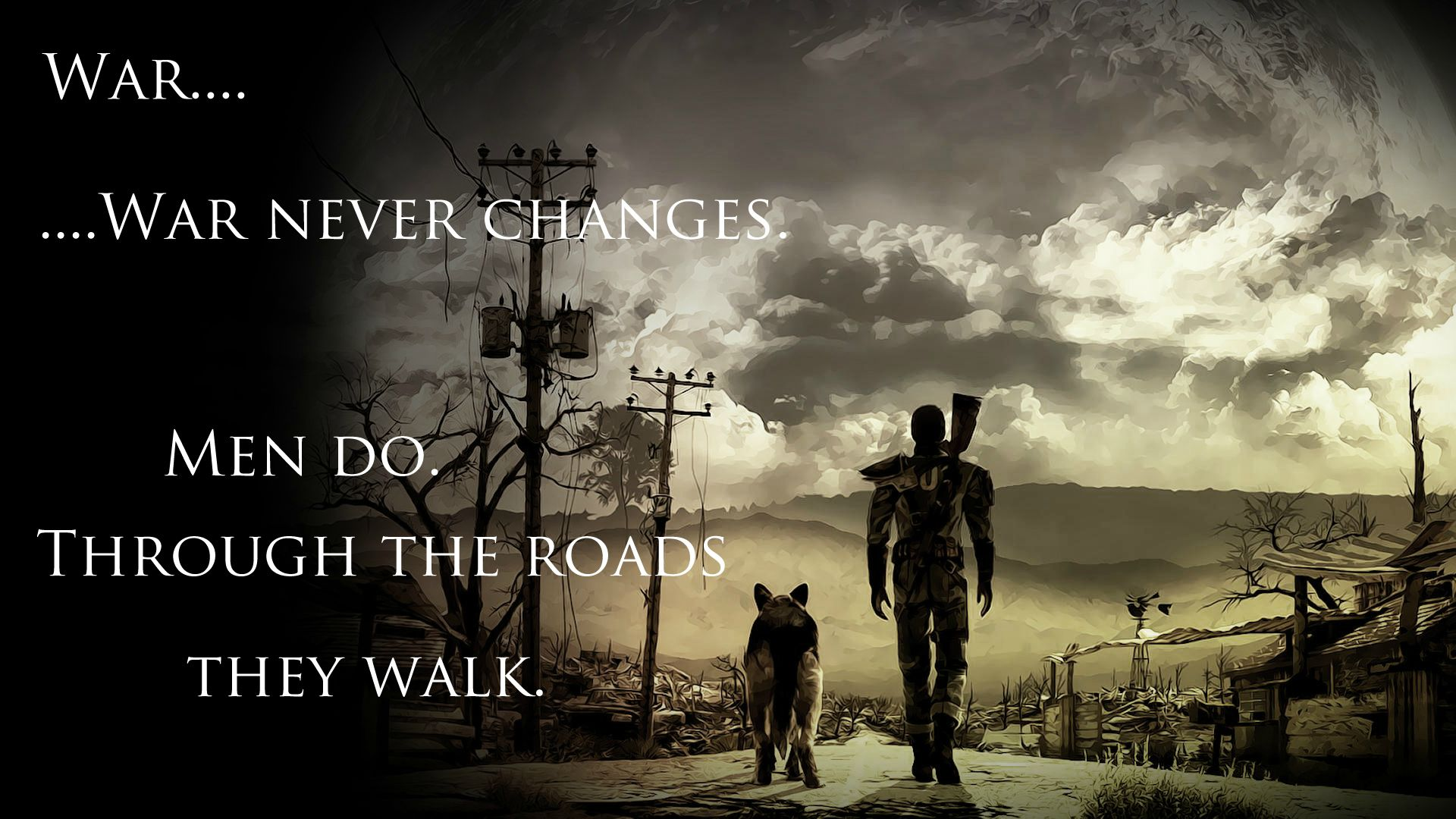 Easily One of the best Gaming Quotes Fallout iimgurcom 1920x1080
